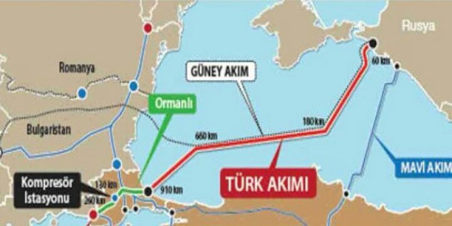 ABD: Türk Akımı Projesine Karşıyız