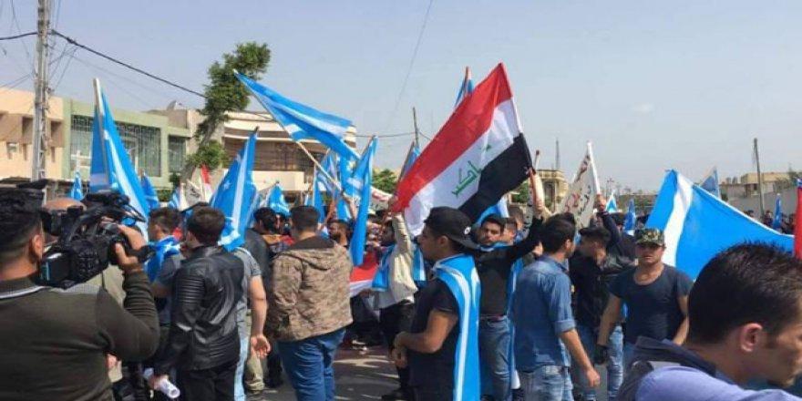 Haşdi Şabi Çetesi Erbil'de Protesto Edildi