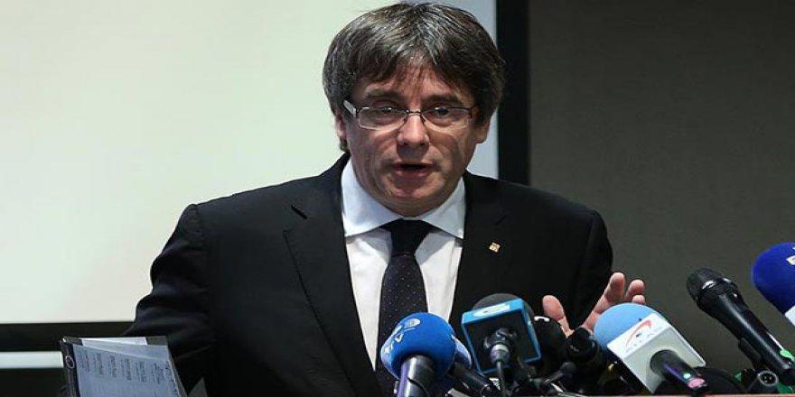 Eski Katalonya Özerk Hükümet Başkanı Puigdemont gözaltında