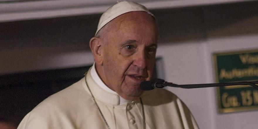 """Papa Francesco """"Kilisedeki Cinsel Taciz Vahşetini"""" Kınadı"""