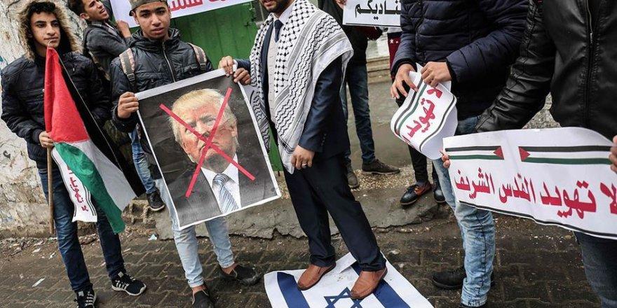 Gazze'de Ortak Protesto Gösterisi