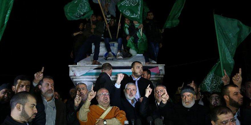Gazze'de ABD'nin Kudüs Açıklaması Protesto Edildi