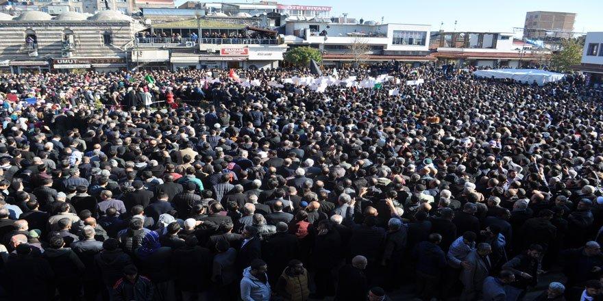 Diyarbakır Haykırdı: Kudüs İslam'ındır!