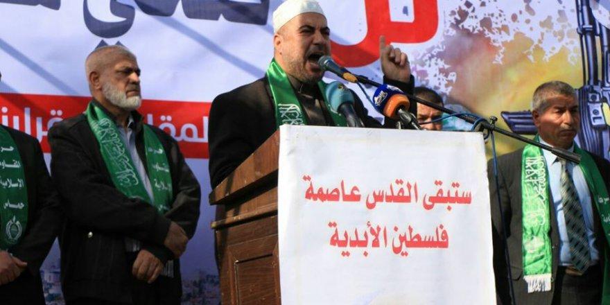 Hamas: Elçilik Binasının Kudüs'e Taşınması Filistin'e Yönelik Yeni Bir İşgaldir