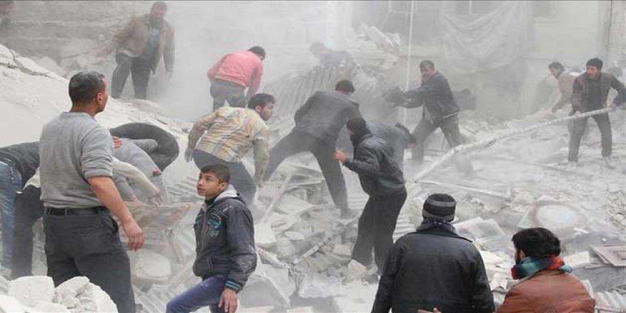 Esed Rejimi Varil Bombalarıyla Öldürmeyi Sürdürüyor
