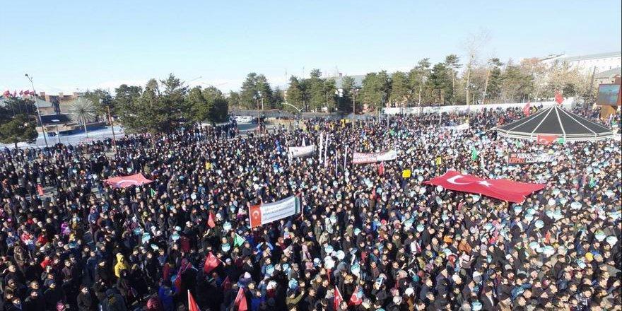 Erzurum Kudüs İçin Ayağa Kalktı