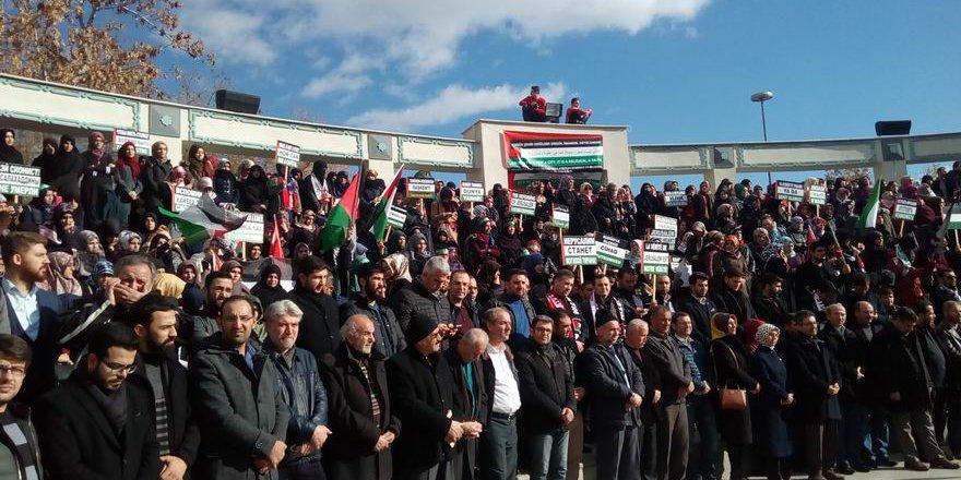 Konya'da Kudüs İle Dayanışma Eylemi