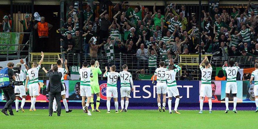 """Celtic Taraftarları: """"Kudüs Filistin'dir"""""""