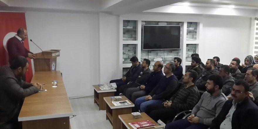 """Muş Özgür-Der'de """"Said Halim Paşa"""" Semineri"""