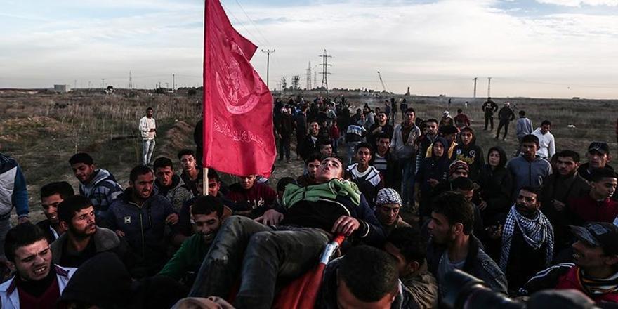 İşgalciler Dün Batı Şeria ve Gazze'de 62 Filistinliyi Yaraladı!