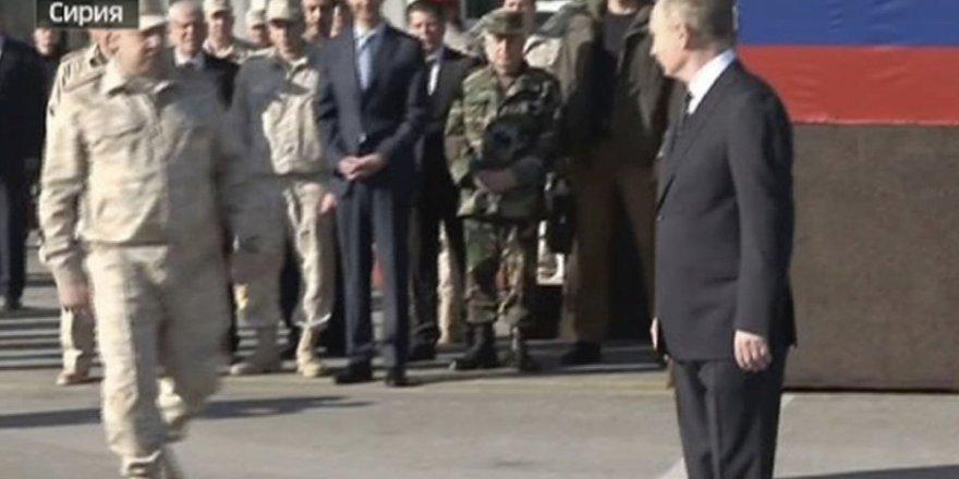 Esed'i Patronu Putin'le Yürütmediler