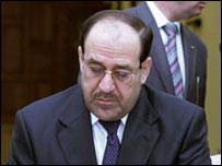 Maliki, Yeni Hükümeti Irak Meclisine Sundu