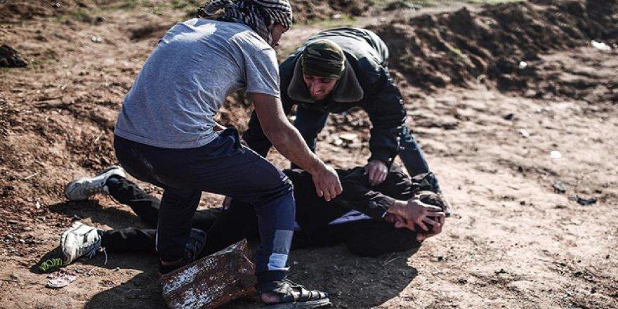 ABD'nin Kudüs Kararı Protestolarında 124 Filistinli Yaralandı