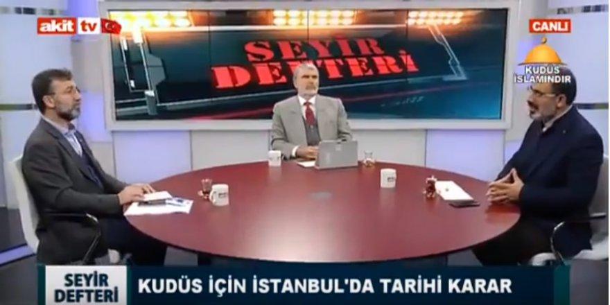 Seyir Defteri'nde İİT İstanbul Zirvesi ve Kudüs Konuşuldu