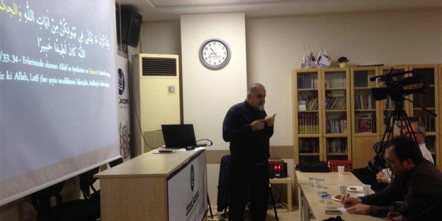 Başakşehir Özgür-Der'de Kur'an'ın Temel Kavramları Dersleri Devam Ediyor