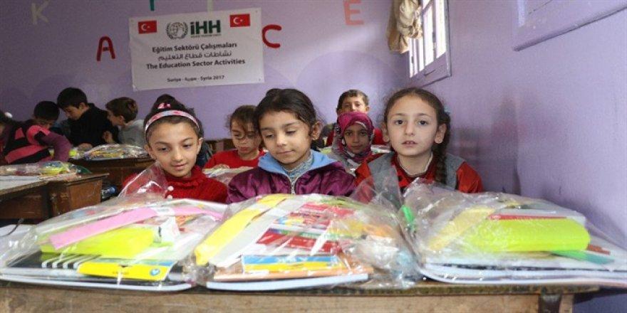 İHH Suriye'de Yetim Çocuklar İçin Anaokulu Açtı