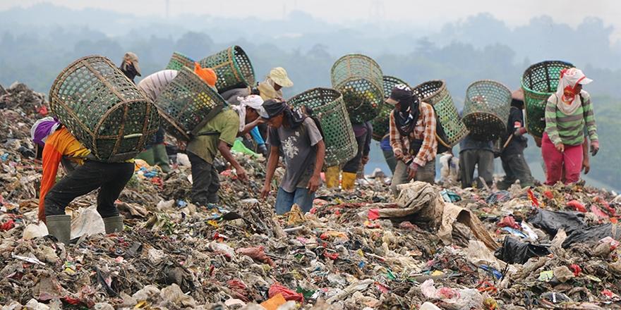 Cakarta'nın Dev Çöplüğünde Yaşam Mücadelesi!