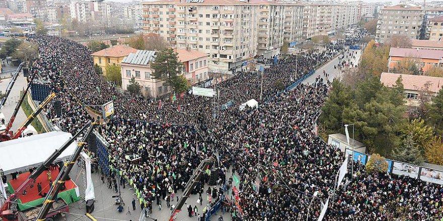 Diyarbakır'da 'Kudüs'e Sahip Çıkıyoruz' Mitingi Düzenlendi