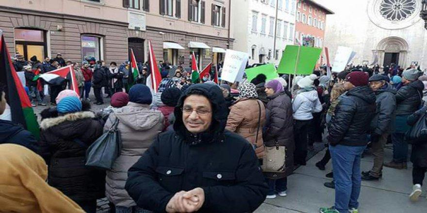 ABD'nin Kudüs Provokasyonu İtalya'da Protesto Edildi