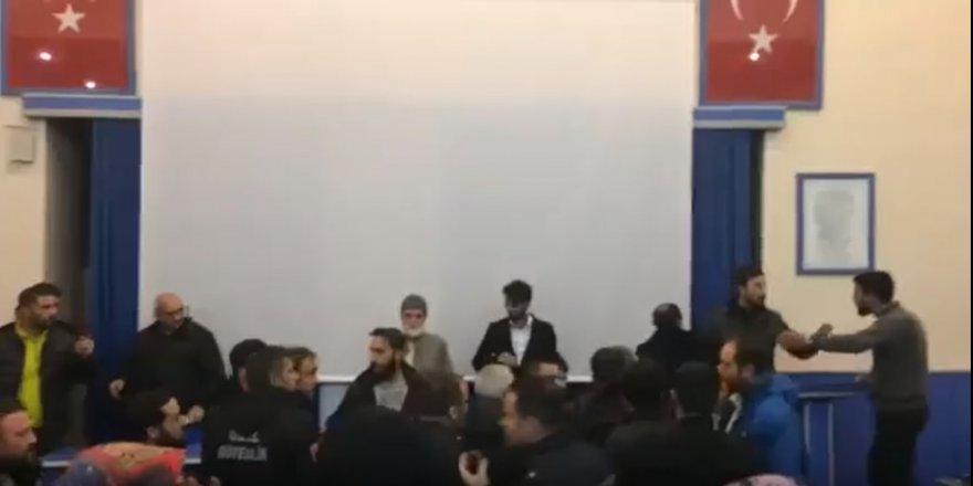 Atatürk Üniversitesi'nde Irkçı Çeteler Mehmet Göktaş'a Saldırdı
