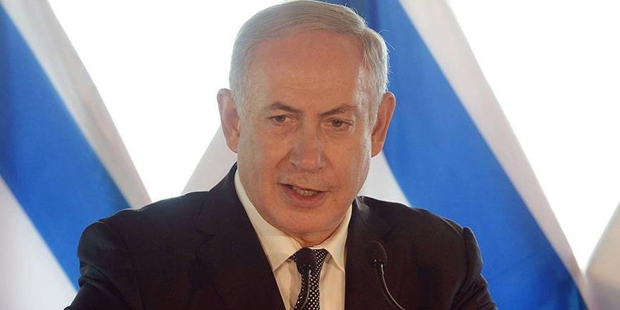 İşgalci Netanyahu'dan ABD'ye Kudüs Vetosu İçin Teşekkür!