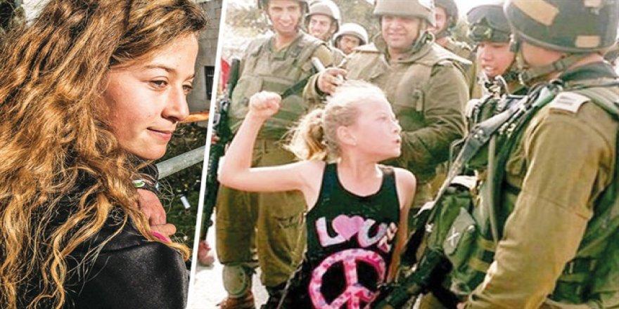 Çocuklar İşgalci İsrail'i Panikletti