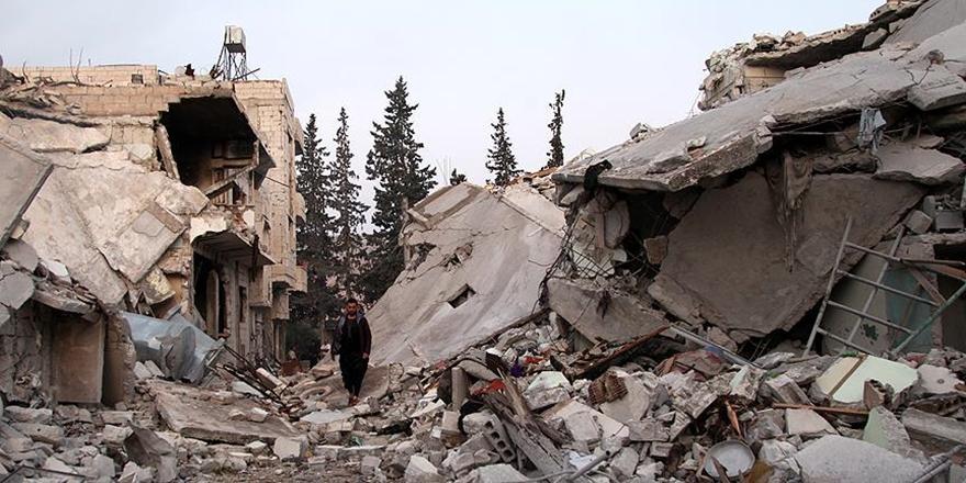 Rusya İdlib'de Vakum Bombası Kullandı: 8 Sivil Hayatını Kaybetti!
