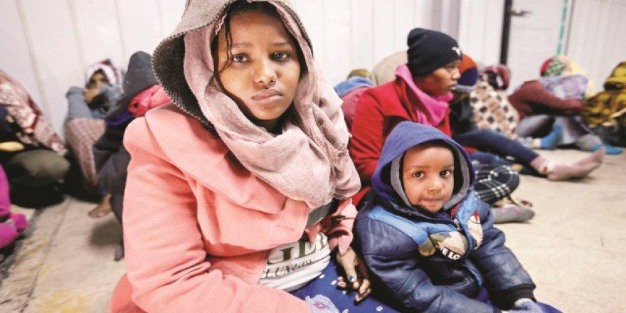 10 Mülteci Polonya'ya Fazla Geldi