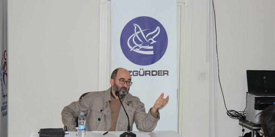 """Van Özgür-Der'de """"Müslümanın İstişare Ahlakı"""" Konuşuldu"""