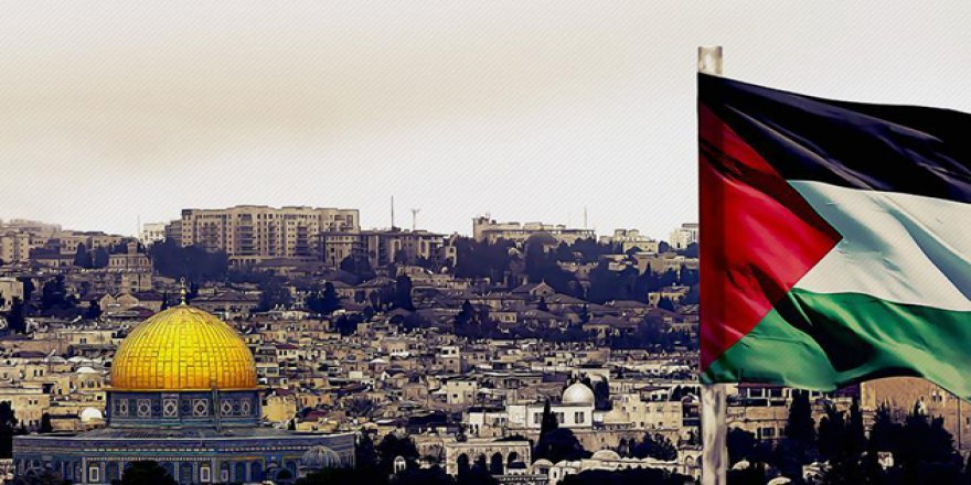 Kudüs'te Siyonistlerle Filistinliler Arasında Bayrak Savaşı