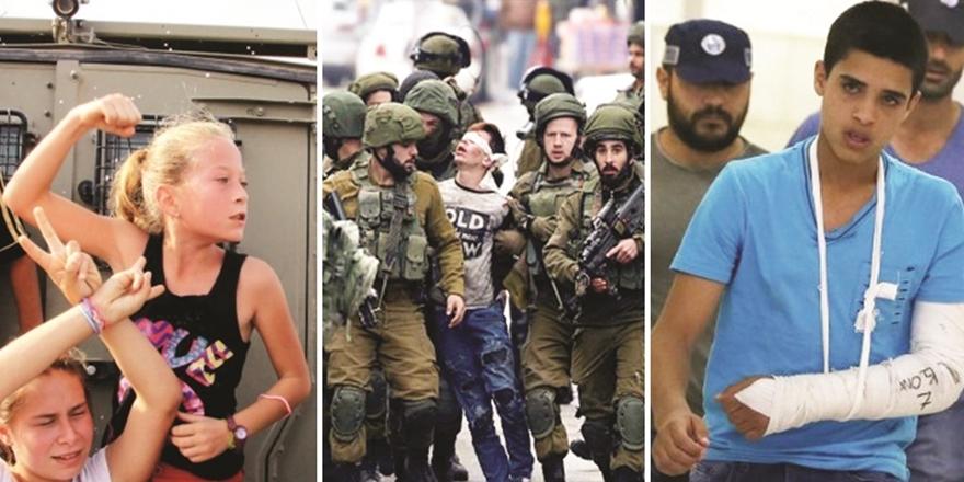 Filistin'in Direnen Çocukları!