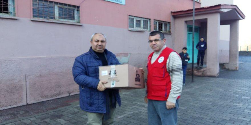 Bitlis'te Duyarlı Öğretmenlerden Köy Okullarına Yardım