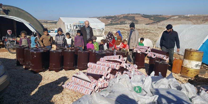 Kış Kampanyası Vesilesiyle Suriyeli Kardeşlerimizi Ziyaret Ettik!