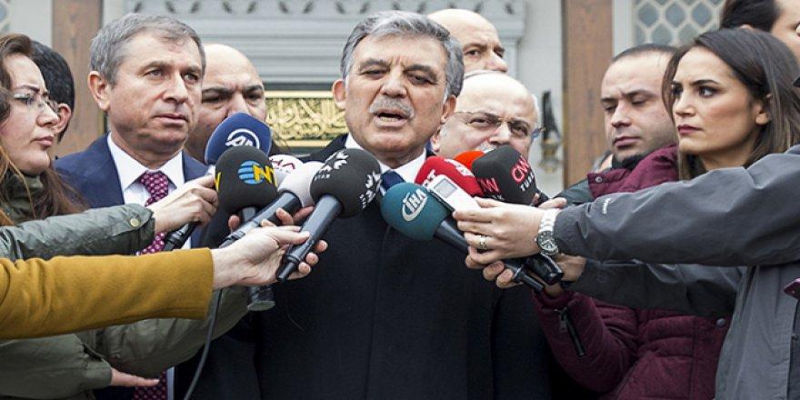 Abdullah Gül: İyi Niyetli Bir Kararname Ama Düzeltmeye İhtiyacı Var
