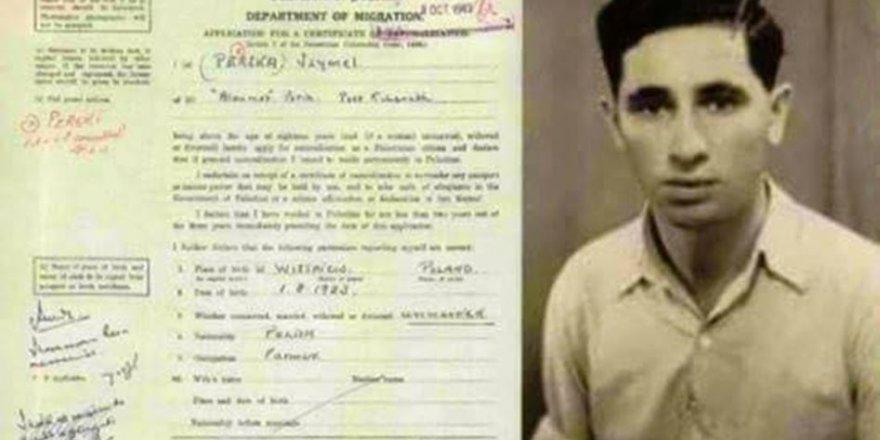 Tarihi Belgeler: Şimon Peres Filistin Vatandaşlığı İçin Başvuru Yaptı