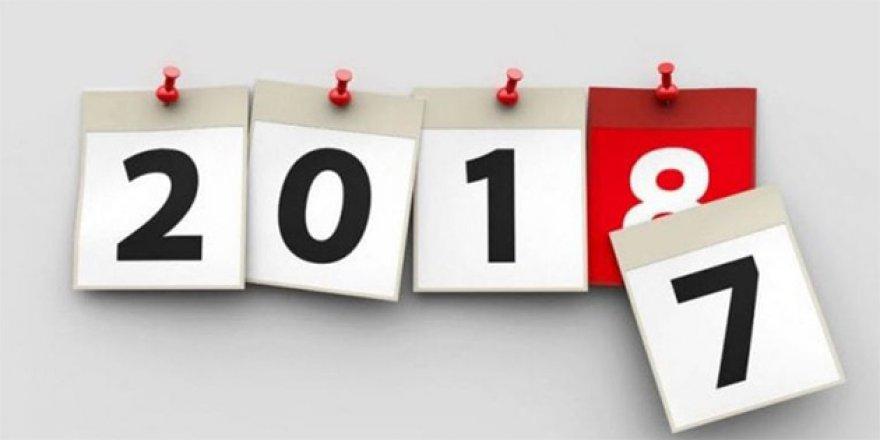 2018'in 2017 Kadar Zor Bir Yıl Olmaması Dileğiyle