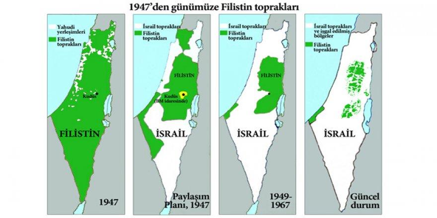 Netanyahu'dan Batı Şeria'yı Siyonist İsrail'e İlhak Etme Girişimi