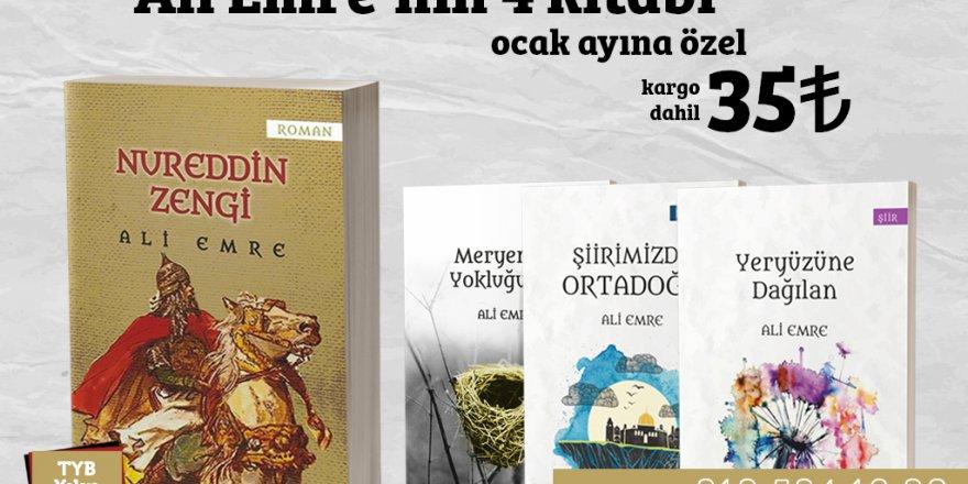 Temmuz'dan Ali Emre Kitapları Kampanyası