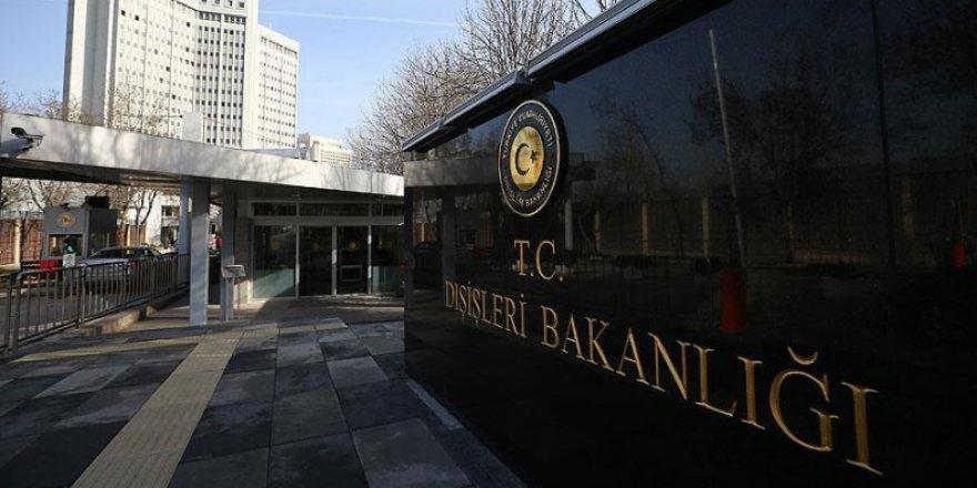ABD, Rusya ve İran Büyükelçileri Dışişleri Bakanlığında