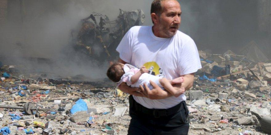 Suriye'de 2017'de 4 Binden Fazla Kişi Katledildi