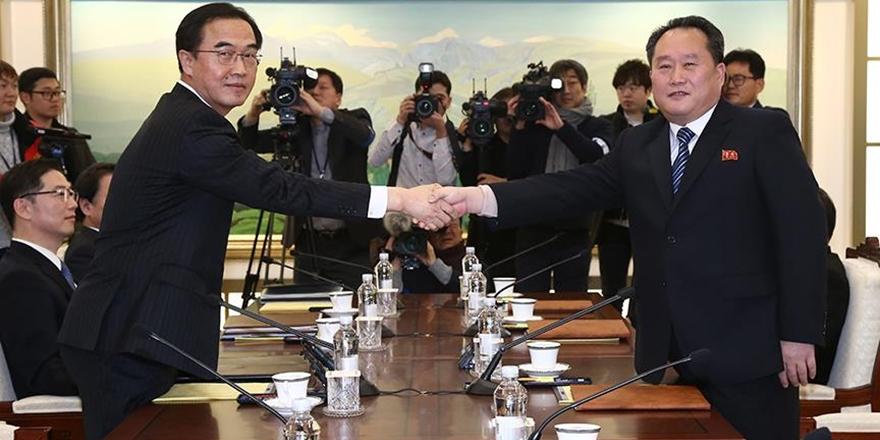 Güney Kore ile Kuzey Kore Arasında Üst Düzey Görüşme