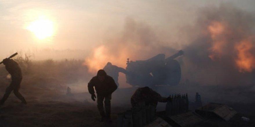 Ukrayna'da Şiddetli Çatışmalar Yaşanıyor