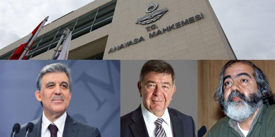 AYMnin Mehmet Altan ve Şahin Alpay Kararını Abdullah Güle Fature Etmek