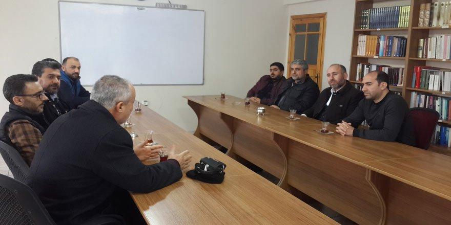 Hizb-ut Tahrir'den Diyarbakır Özgür-Der'e Ziyaret