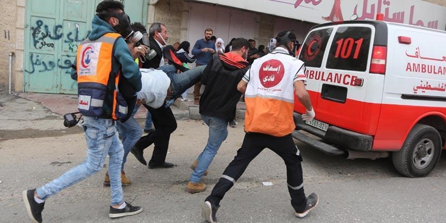 Siyonistlerin İhlallerine Tepki Gösteren Filistinlilere Müdahale!
