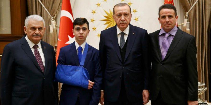 Erdoğan Kudüs Direnişinin Sembolü Cuneydi'yi Kabul Etti