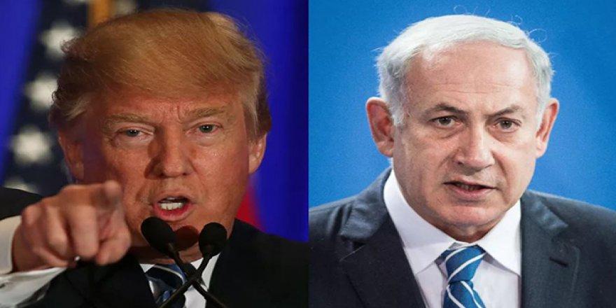 Trump'tan Netanyahu'ya Yalanlama