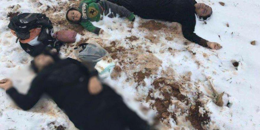 Zulümden Kaçmaya Çalışan Suriyeli Ailenin Fertleri Donarak Öldü