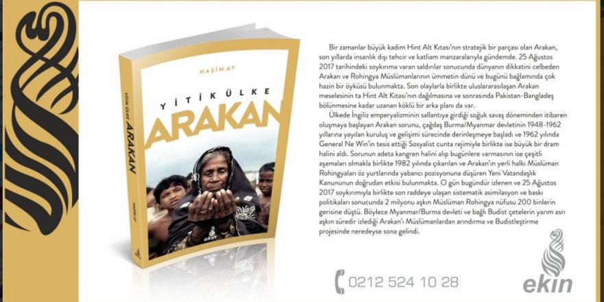 Ekin Yayınları'ndan Yeni Kitap: Yitik Ülke Arakan