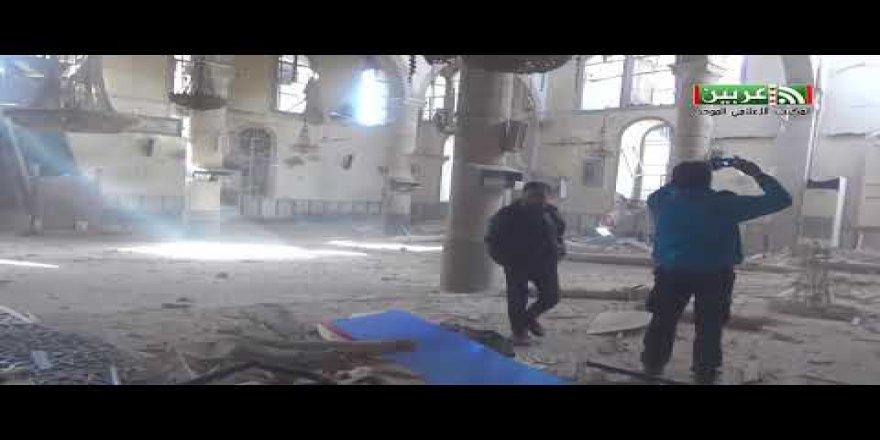 Arbin'de Rus ve Rejim Uçakları Camiyi Hedef Aldı